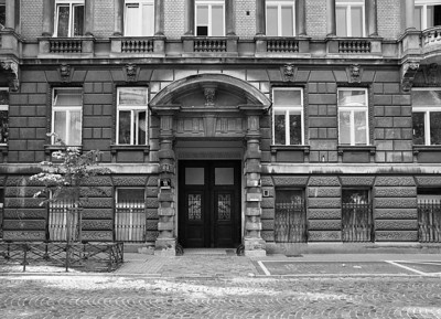 Warsaw in Black and White