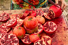 Pomegranates sliced and juiced, OZCF Market