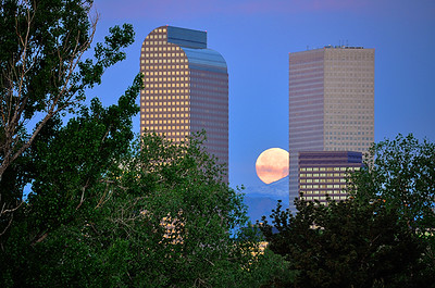 Mile High City Moon