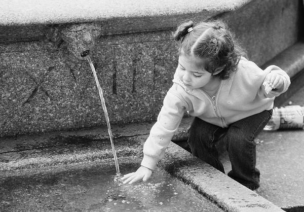 Child & Fountain.