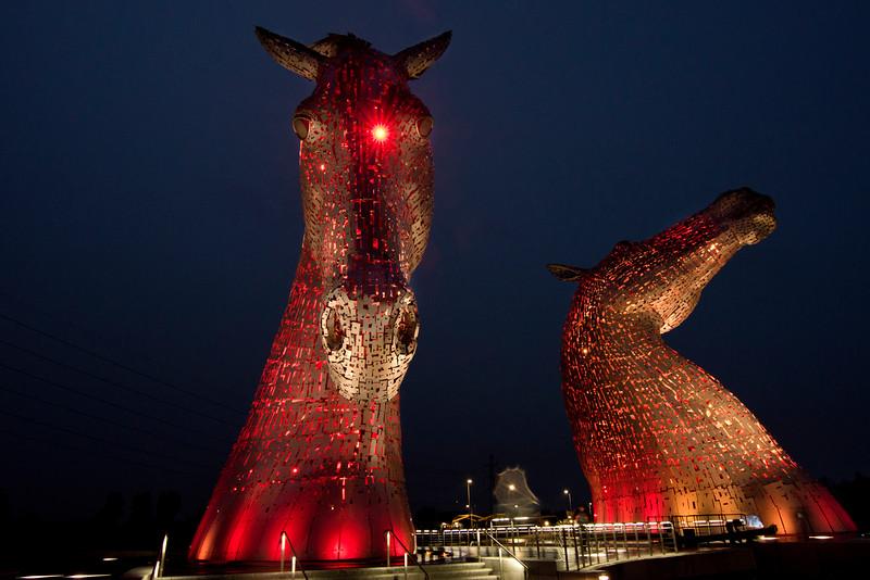 The Kelpies Sculpture - Falkirk