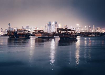 Dhow Harbour, Doha Qatar