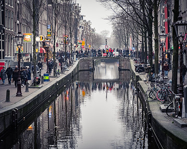 New Year's Day in Amsterdam