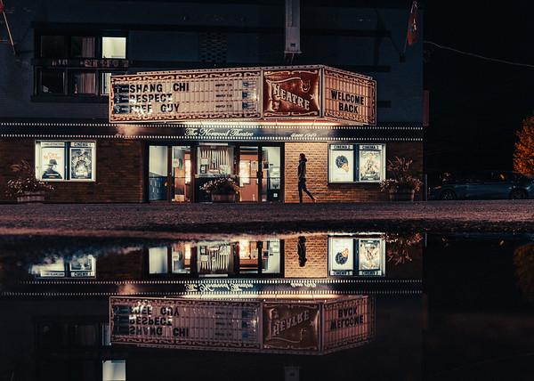 Movie Night in Bracebridge, Ontario
