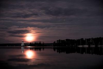 Kidston Lighthouse, Baddeck,Cape Breton