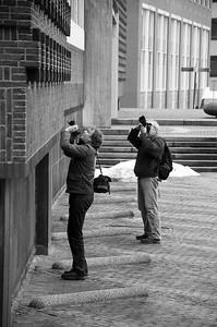 Fotografen in het wild