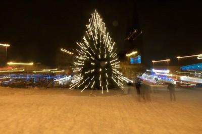 Kerstboom musis