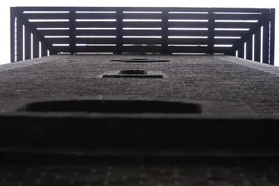 Belvedere van onderen bezien