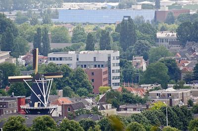 Arnhem met de molen in Klarendal