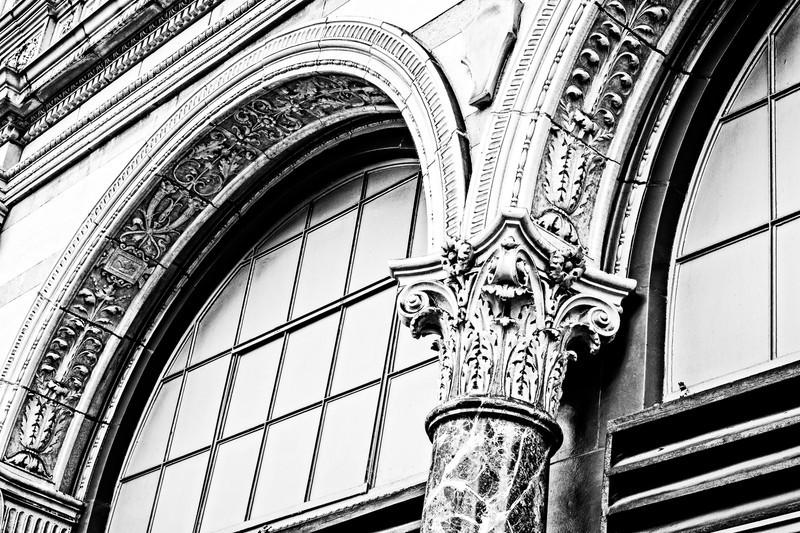 detailed trim work around windows on a building in Birmingham, AL