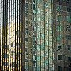 buildings in abstract
