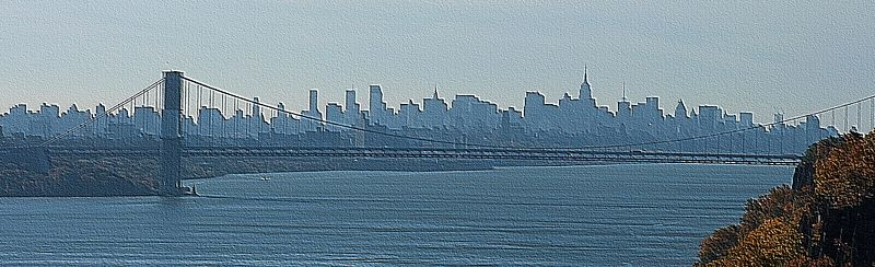 Hudson River Cityscape