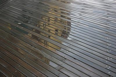 Boardwalk after rain