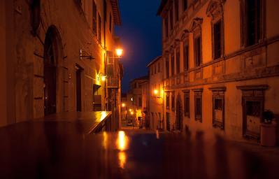 Montepulciano at night