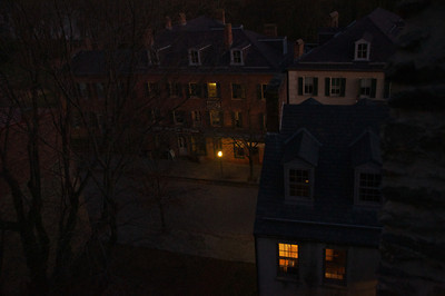 Harpers Ferry at night