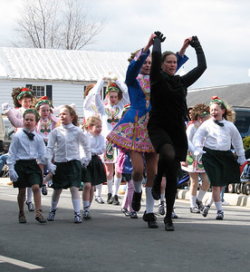 Irish dance St. Patrick Parade