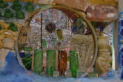 Wheels   and bottles Philadelphia's Magic Gardens Artist Isaiah Zagar's masterpiece on South Street
