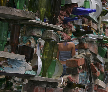 Philadelphia's Magic Gardens Artist Isaiah Zagar's masterpiece on South Street