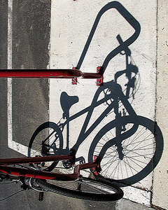 Bicycle and its Shadow
