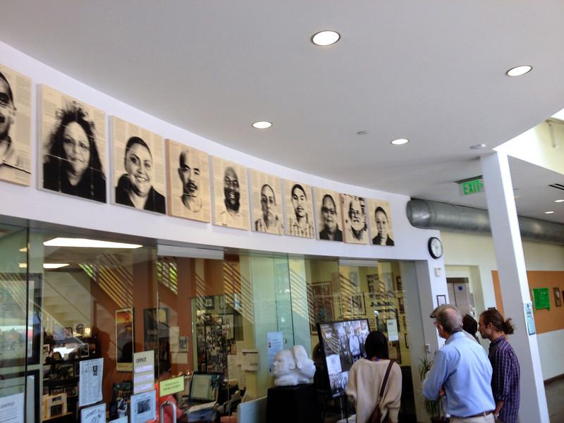 Lobby of Homeboy Industries, 4/11/2014