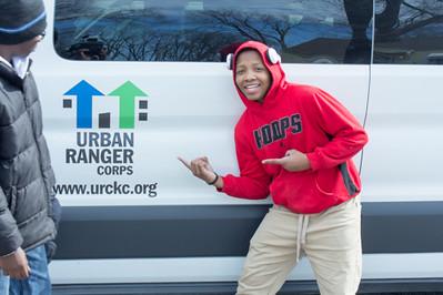 Urban Rangers (Working at the Community Garden~Friendship Baptist Church KC