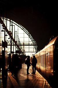 Goodbyes  Frankfurt Hauptbanhof, Frankfurt, Germany.