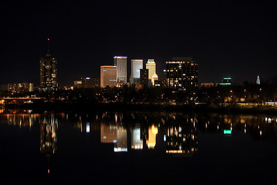 Tulsa Lights Up the Night