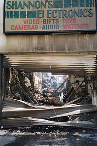 1992 Los Angeles Riot Damage - 13 of 34