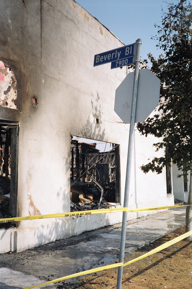 1992 Los Angeles Riot Damage - 26 of 34