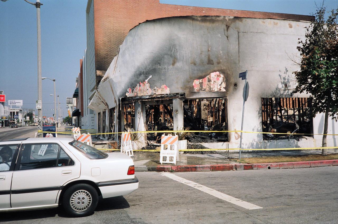 1992 Los Angeles Riot Damage - 25 of 34