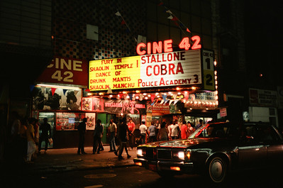 42nd Street From My Car, 1986