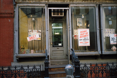 East Village, NYC, 1985: East 7th Street Storefront - 3 of 3