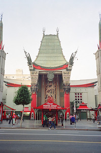 Hollywood Boulevard, 1987: Mann's Chinese Theatre 1 of 2