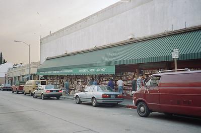 Hollywood Boulevard, 1987: Universal News Agency