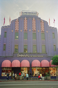 Hollywood Boulevard, 1987: Frederick's of Hollywood