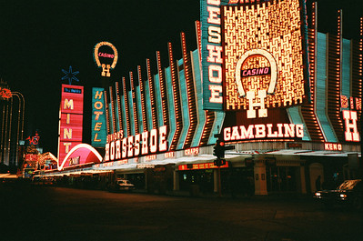 Las Vegas, January 1987: Downtown