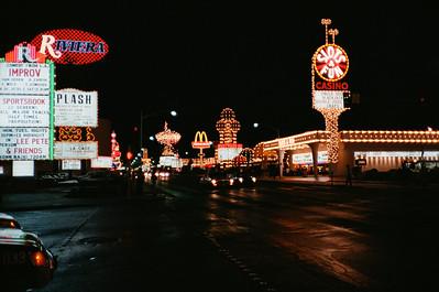 Las Vegas, January 1987: The Strip