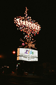 Las Vegas, January 1987: The Stardust Sign