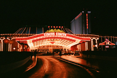 Las Vegas, January 1987: Circus Circus