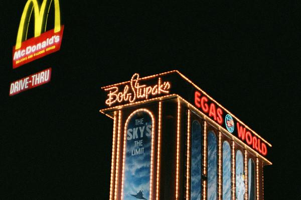 Las Vegas, January 1987: Cropping Fun