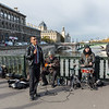 River Seine - street entertainers
