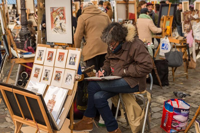 Artists of Montmartre