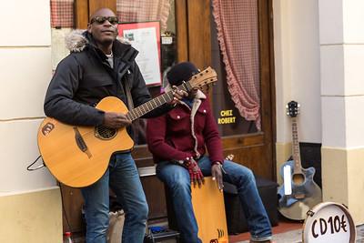 Street musicians - Montmartre