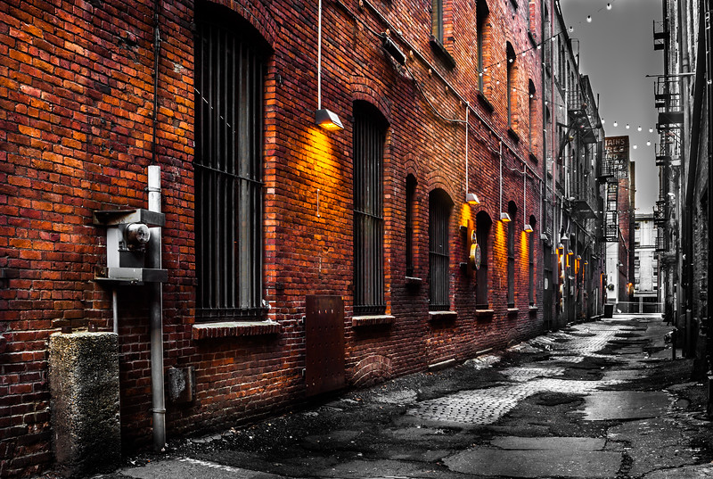 Alley in Pioneer Square