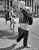 Backpackers, King George Square, Brisbane, Queensland, Australia