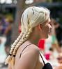 Blonde Plaits