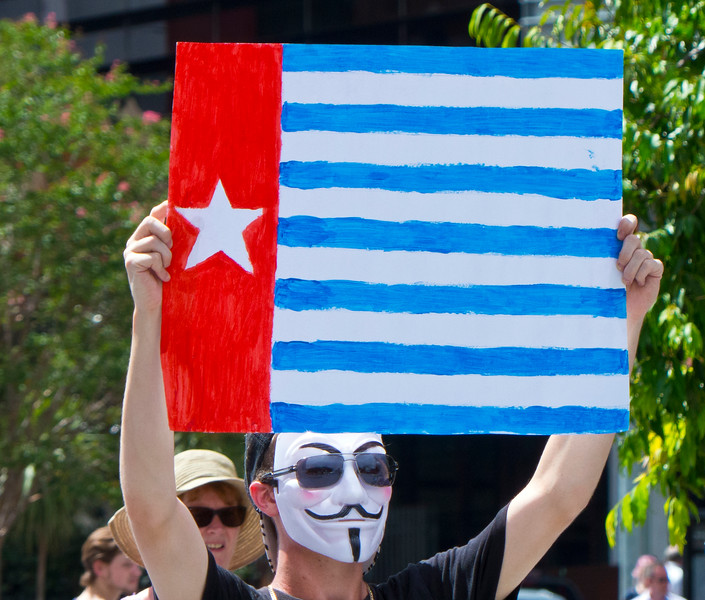 Free Papua Protest