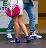 Blue Shoes, Queen St Mall Brisbane, Australia (2)