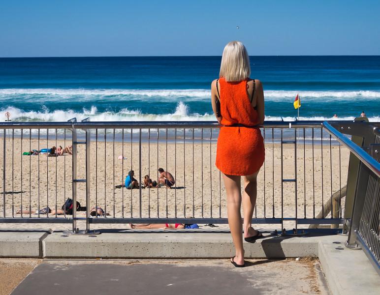 Orange On Blue, Gold Coast, Queensland, Australia(1)