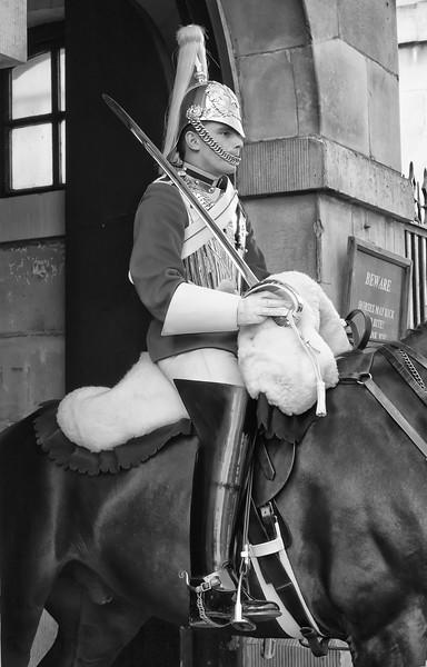 Guardsman Buckingham palace london